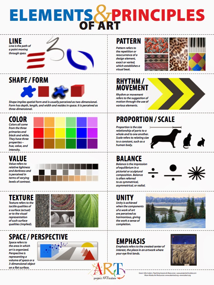 Elements Principles Of Art Design Delview Media Arts